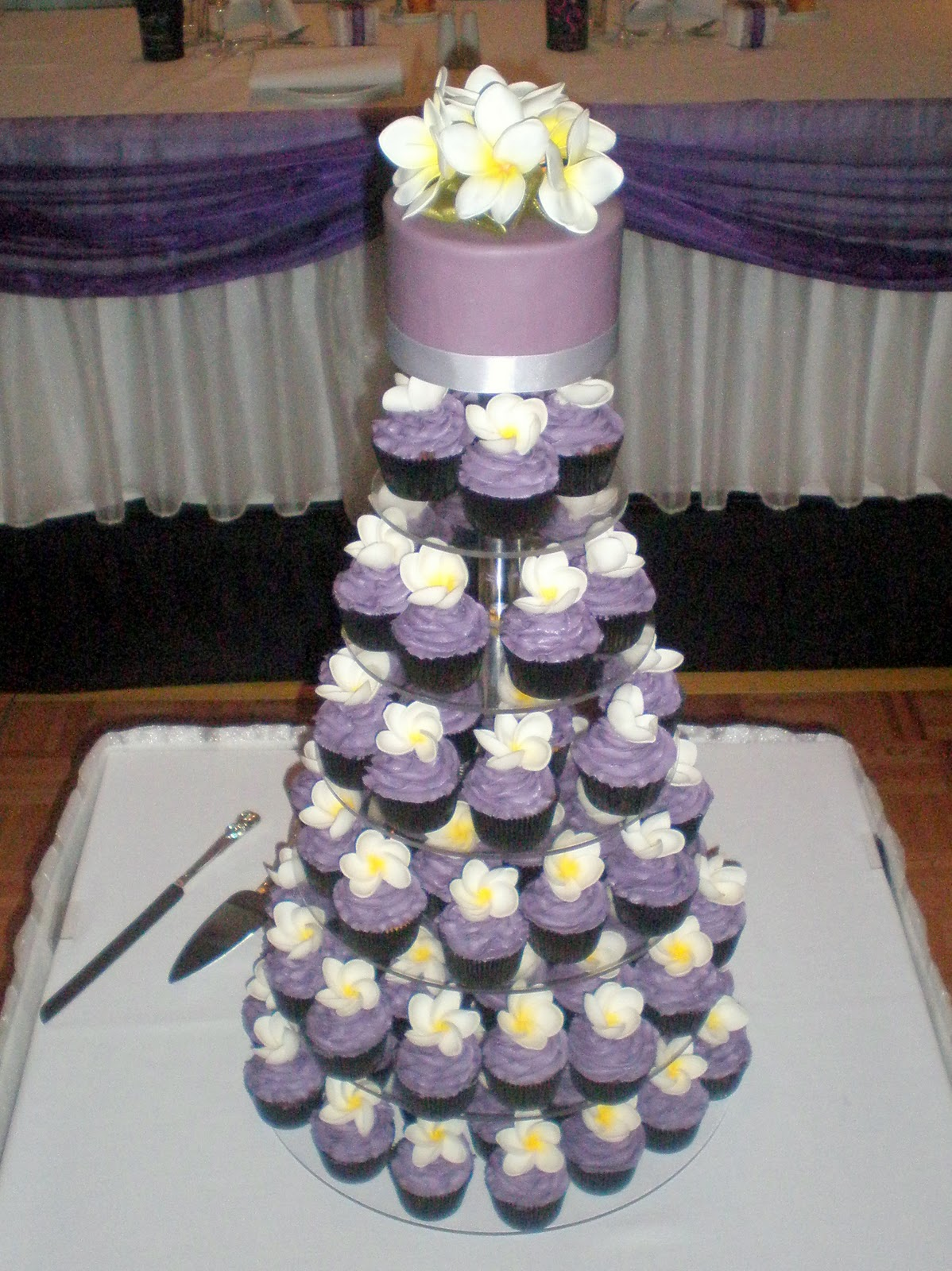Purple Wedding Cupcakes images