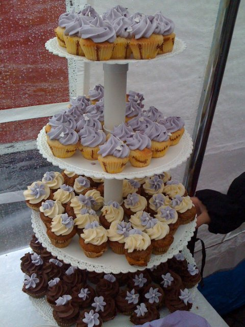 opsats til cupcakes